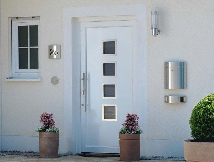 Haus Eingang cps metall baubeschlags zubehör komplettpaket hauseingang 1